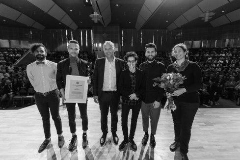Jörn Svensson priset 2015 till Newcommers. Fotograf: Jöran Fagerlund.