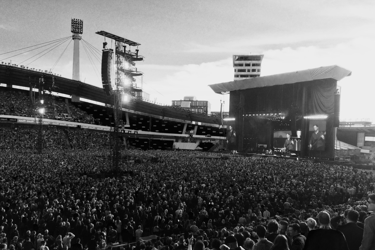 Foo Fighters på Ullevi.
