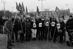 Starka känslor för HDP från Vänsterpartiet i Göteborg.