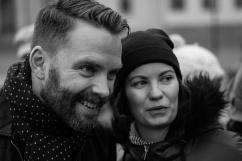 Hans Linde och Ann Karlsson.