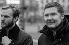 Arne Hellmark och Patrik Helgeson.