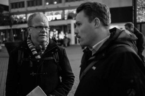 Thomas Martinsson och Daniel Bernmar (V)