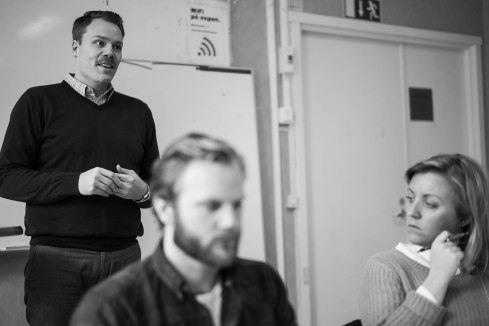 Daniel Bernmar, kommunalråd, berättar om den pågående Sverigeförhandlingen.