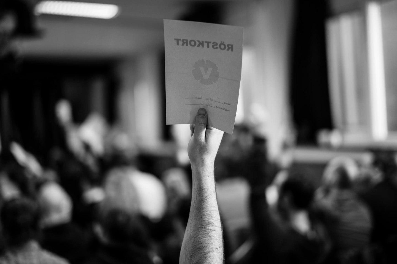 """""""Votering är begärd och skall verkställas..."""""""
