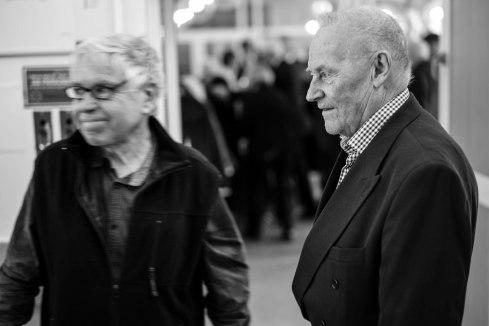 Johan Lönnroth och Frank Baude.