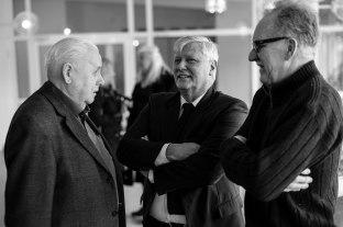 Folke Olsson, Lars Ohly och Lennart Björk.