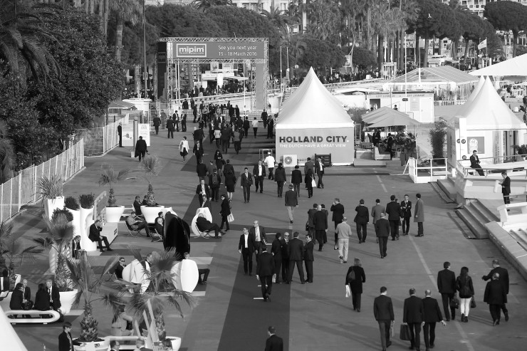 MIPIM 2015 - ATMOSPHERE - OUTSIDE - CROISETTE VILLAGE