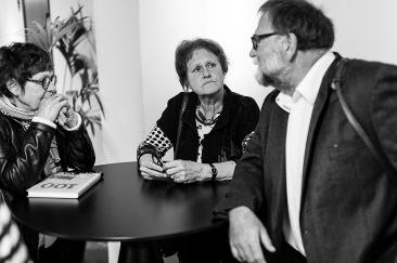 Viola, Karin och Felix.