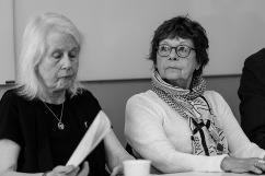 Margareta Wedborg och Viola Claesson.
