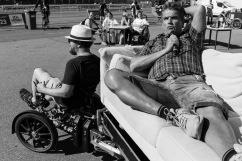 Kari Martens berättade om sin resa från soffpotatis på 106 kg som blev hämtad av ambulans för hjärtproblem till triatlet.